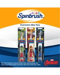 Marvel® Avengers® Kid's Spinbrush™, Soft