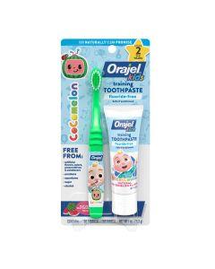 Orajel™ Cocomelon™ Fluoride-Free Training Toothpaste w/ Brush