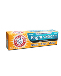 Arm & Hammer Bright & Strong Truly Radiant Toothpaste, 4.3 oz.