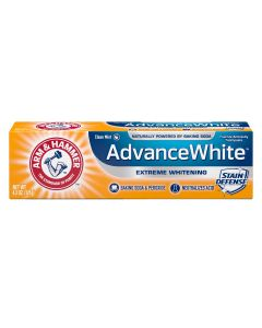 Arm & Hammer Advance White Extreme Whitening Toothpaste, 4.3 oz.
