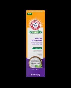 Arm & Hammer Essentials Fluoride Toothpaste Healthy Teeth & Gums , 4.3 oz