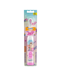 Arm & Hammer Kids Spinbrush JoJo Siwa Soft Battery-Powered Toothbrush